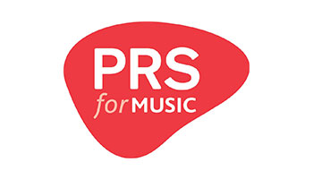 PRS for music company logo